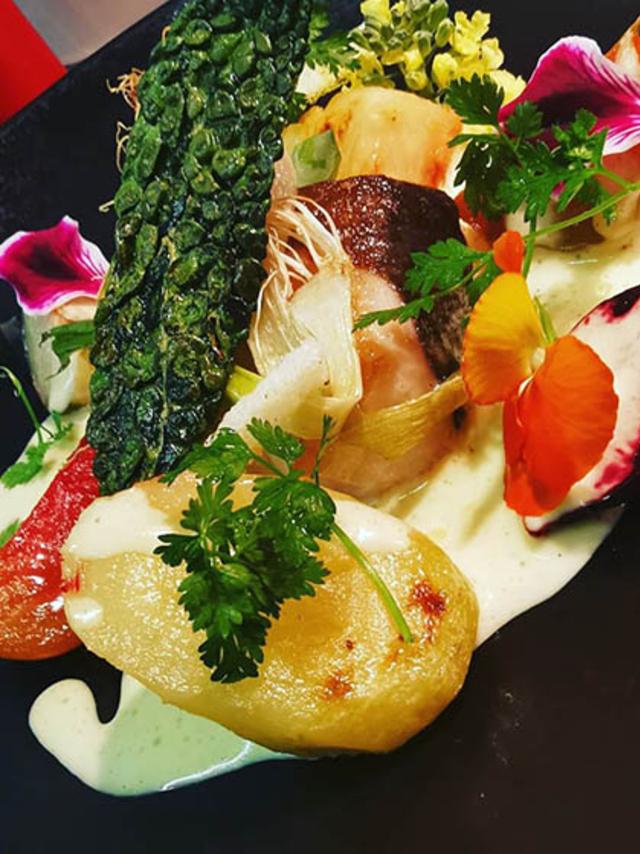 Restaurant le 17 Perpignan propose sa recette du pavé de cabillaud Skrei.(® le 17)